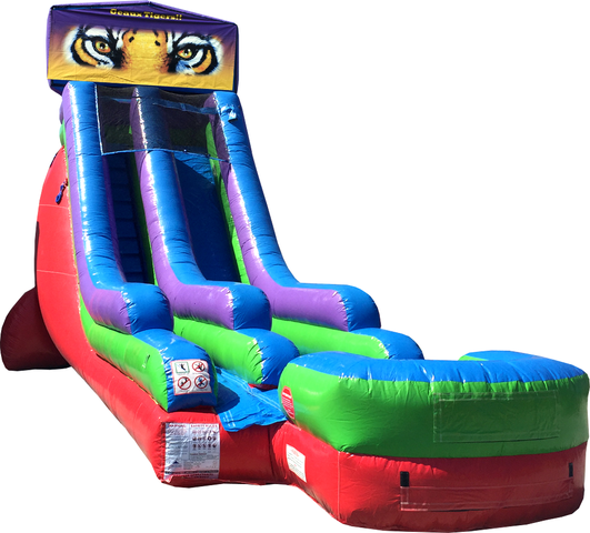 18 Ft Water Slide Tigers