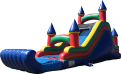35 Ft Slide Castle Top