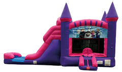Frozen Combo Bouncer Pink 1