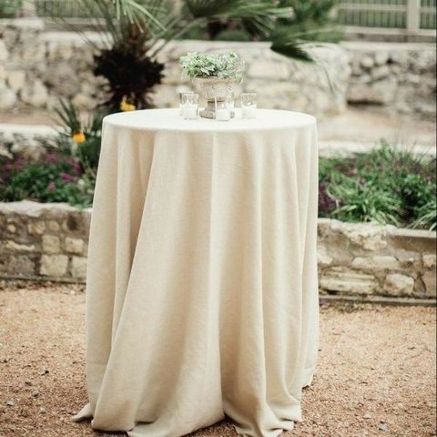 Ivory Cocktail Linen