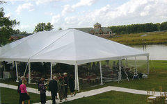 40' X 140' Frame Tent
