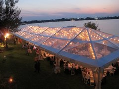 30' X 100' Pro-Span Clear Top Structure Tent