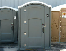 Wheelchair Accessible Porta-Potty