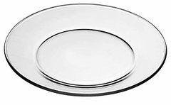 "10""  Clear Dinner Plate"