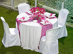 Satin Table Runner (available in most colors)