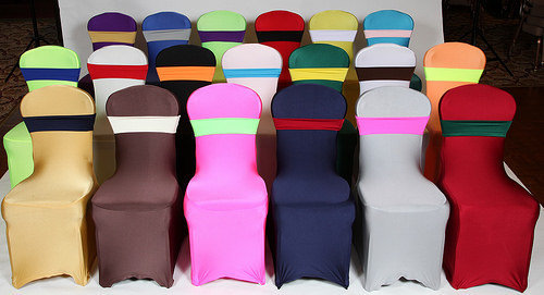 Spandex Chair Band (avaliable in most colors)
