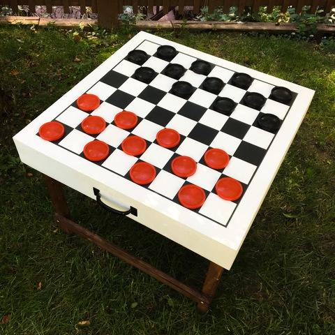 Checkers Table