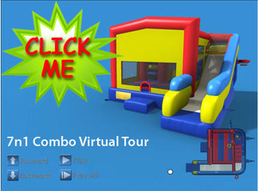 7n1 Combo Bouncer Virtual Tour