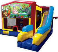 Happy Birthday 7in1 Bounce House Combo