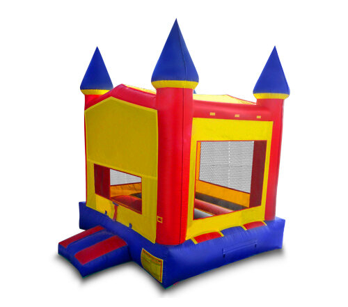 13' x 13' CLASSIC CASTLE (primary colors, banner option)