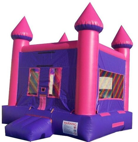 13' X 13' CLASSIC CASTLE (pink and purple)