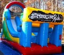 ADRENALINE  OBSTACLE DRY SLIDE