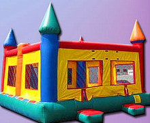 Jumbo 20x20 Primary Bounce House