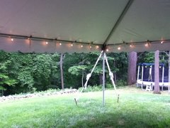 20 x 30 Tent Lighting