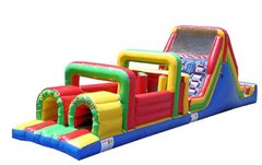 Rainbow Mega Obstacle Course 55
