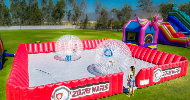 Zorb Ball Arena with 2 Balls