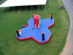 4-way Tug of War Basketball Bungee