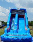 18ft Wet Super Blue Slide w/ Splash Pool *NEW 2015*