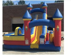 18ft Slide and Obstacle Course