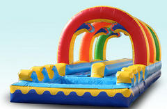 Racing Rainbow Slip, Slide & Splash *NEW 2015*