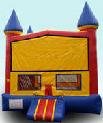 CPU - Colorful Castle w/ inside basketball 15ft  x 15ft