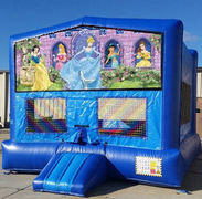 Disney Princess Blue Funhouse    15ft x15ft