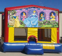 Disney Princess Colorful Funhouse 15ft x 15ft
