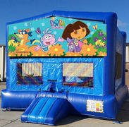 CPU - Dora the Explorer Blue Funhouse 15ft x15ft
