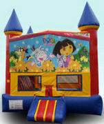 CPU - Dora the Explorer Colorful Castle 15ft x 15ft
