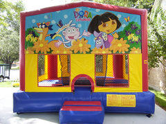 CPU - Dora the Explorer Colorful Funhouse 15ft x 15ft