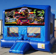 Racing Blue Funhouse    15ft x15ft