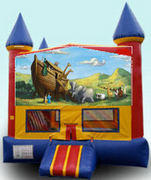 Noah's Ark Colorful Castle 15ft x 15ft
