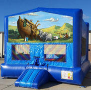 Noah's Ark Blue Funhouse    15ft x15ft