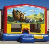 Noah's Ark Colorful Funhouse 15ft x 15ft