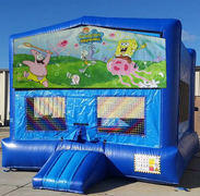 CPU - Spongebob Blue Funhouse    15ft x15ft