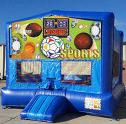 All Sports Blue Funhouse 15ft x15ft