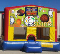 All Sports Colorful Funhouse 15ft x 15ft