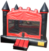 Black and Red Castle