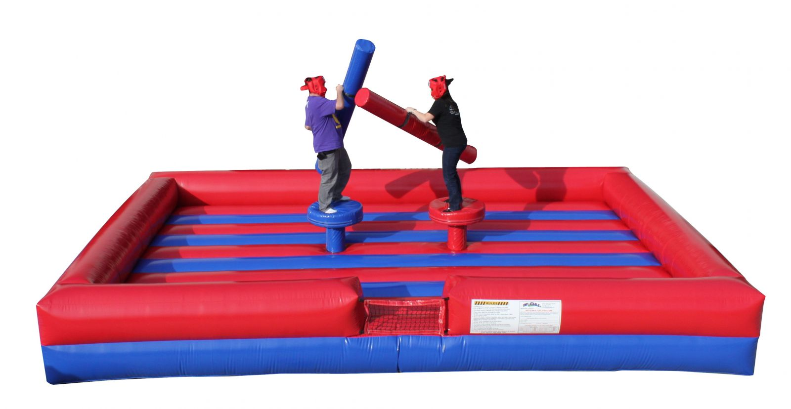 Gladiator Joust Inflatable rental for parties in Austin Texas from Austin Bounce House Rentals
