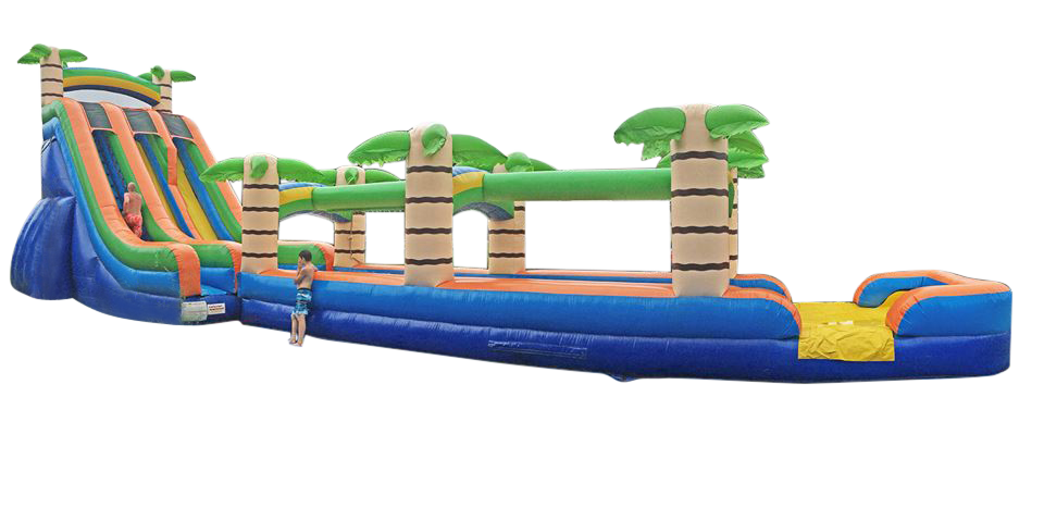 22ft Tropical Water Slide Rental