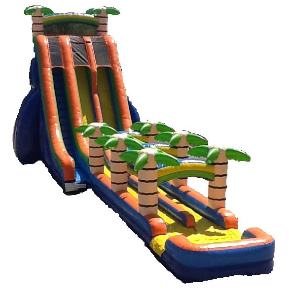 Tropical Slide With Slip n Slide Sneak Peak