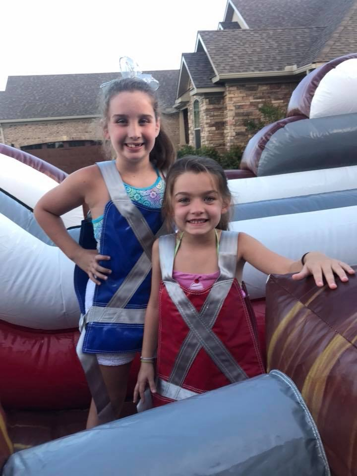 Inflatable game rentals for fall festival or spring fling