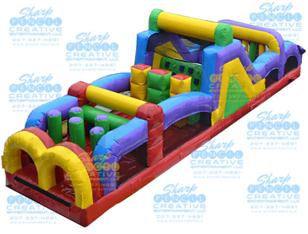 Inflatable Blow Up Obstacle Game Rent in Maine