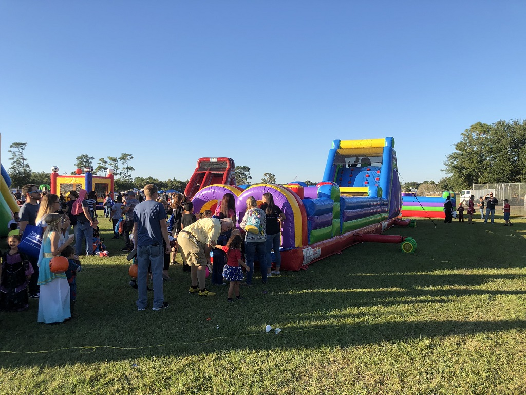 60ft obstacle course inflatable rental