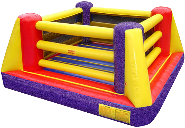 Bouncy Boxing Main Event inflatable boxing ring rental in Austin Texas from Austin Bounce House Rentals