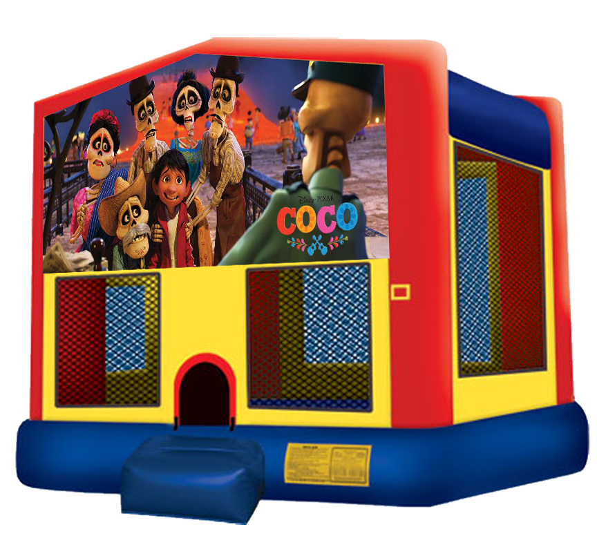 Coco Bounce House Rentals in Austin Texas from Austin Bounce House Rentals 512-765-6071