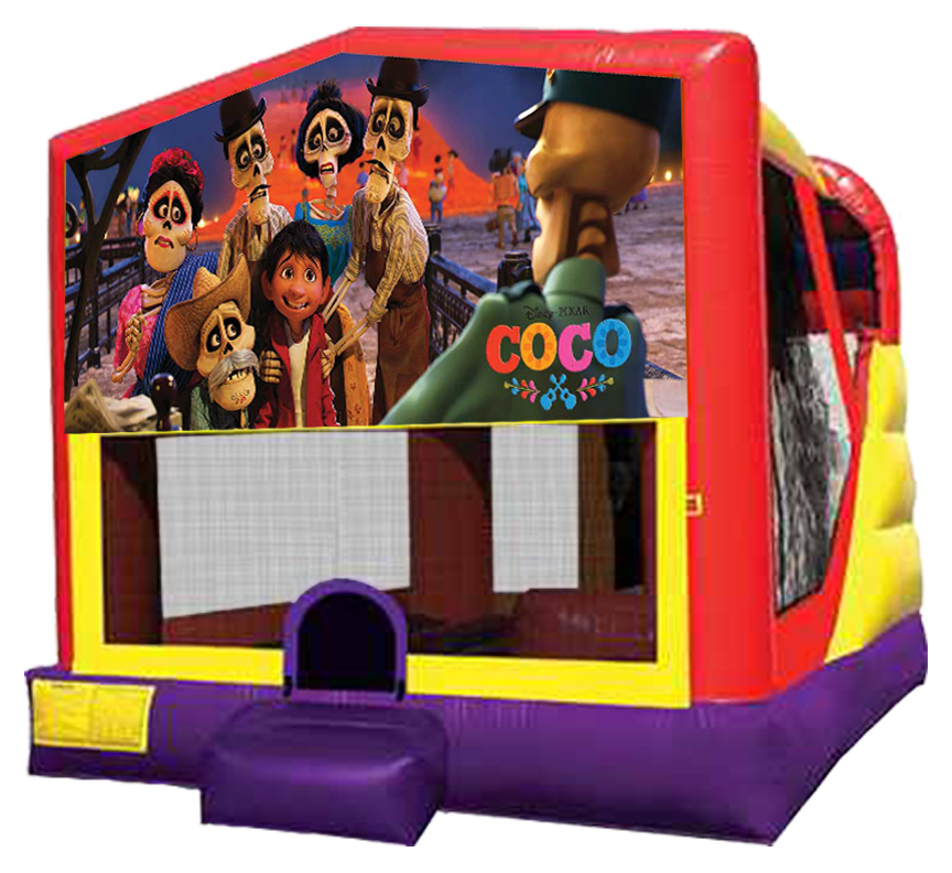 Coco 4-in-1 Combo Rentals in Austin Texas from Austin Bounce House Rentals 512-765-6071