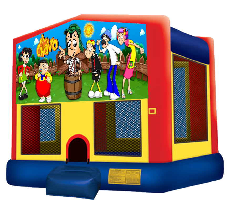 El Chavo Bounce House rental in Austin Texas from Austin Bounce House Rentals