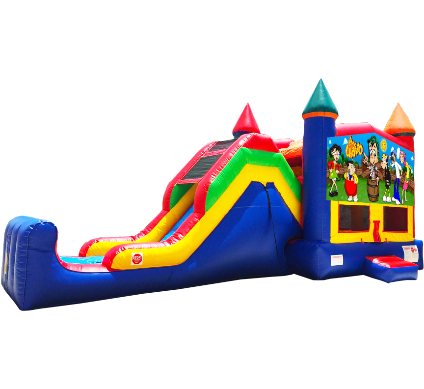 El Chavo Super Combo 5-in-1 Rental in Austin Texas from Austin Bounce House Rentals