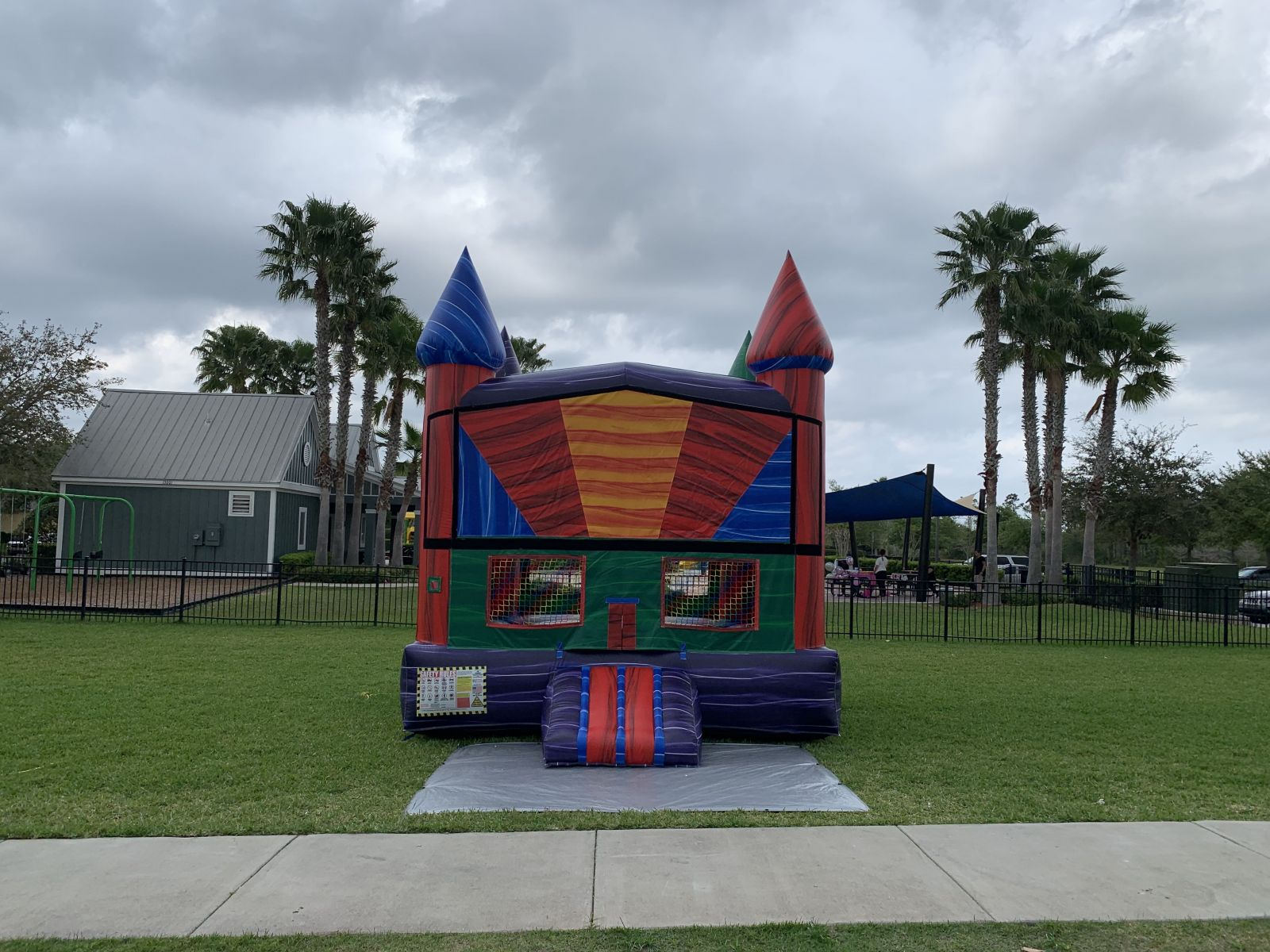 Electro Bounce House Rental